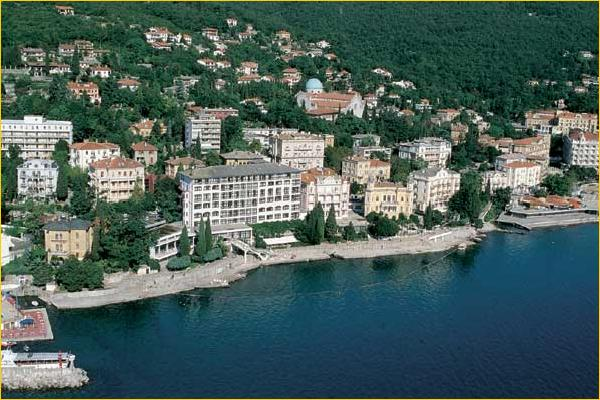 Hotel Kristal Opatija Abbazia Croazia Hotel Kristal